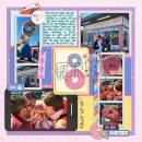 Universal Lard Lad Donuts Digital Scrapbooking Layout using Project Mouse (Pop) by Britt-ish Designs