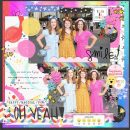Oh Yeah scrapbook layout using Project Mouse (Pop) Extras by Britt-ish Designs