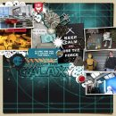 Disney Star Wars Keep Calm and Use the Force digital scrapbook layout using Project Mouse (Galaxy): by Sahlin Studio