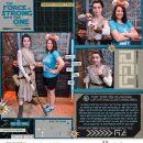 Disney Star Wars Rey digital scrapbook layout using Project Mouse (Galaxy): by Sahlin Studio
