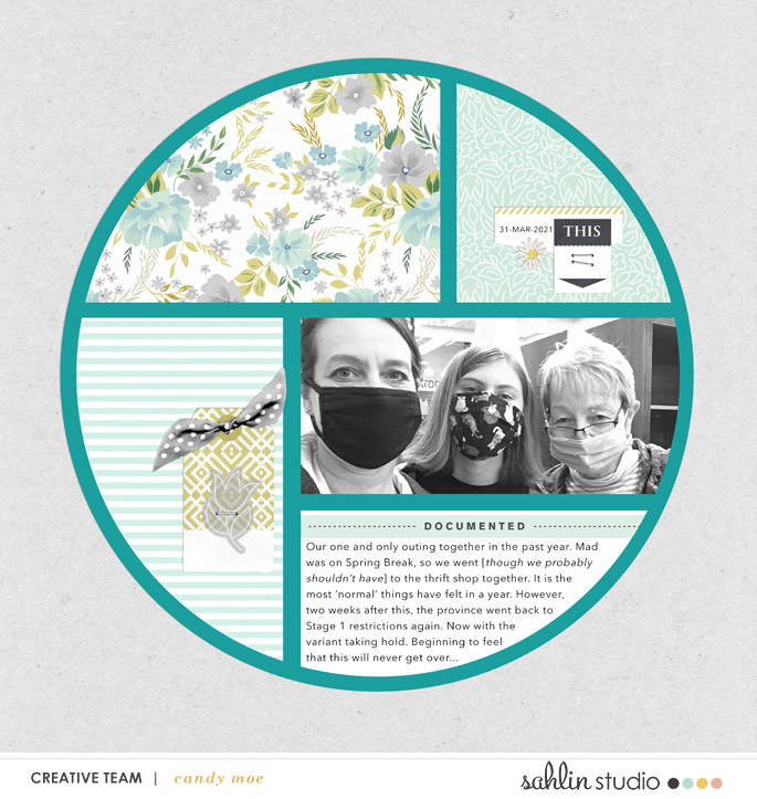 digital scrapbooking layout created by ctmm4 featuring Spring Stories by Sahlin Studio
