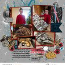 Disney Star Wars digital scrapbook layout using Project Mouse (Galaxy) by Brittish Designs and Sahlin Studio