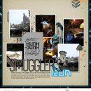 Disney Star Wars Smugglers Run digital scrapbook layout using Project Mouse (Galaxy): by Sahlin Studio