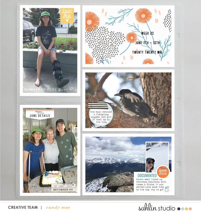 digital scrapbooking layout created by ctmm4 feautring Summer Stories by Sahlin Studio