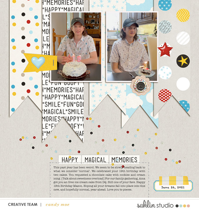 digital scrapbooking layout created by ctmm4 featuring August '21 FREE Template by Sahlin Studio