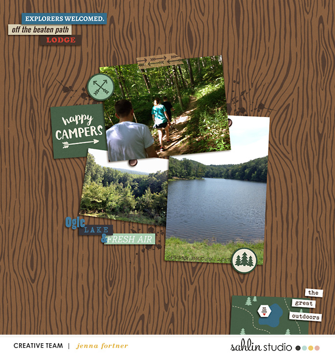 digital scrapbooking layout created by jenna featuring Project Mouse (Wilderness) by Sahlin Studio and Britt-ish Designs