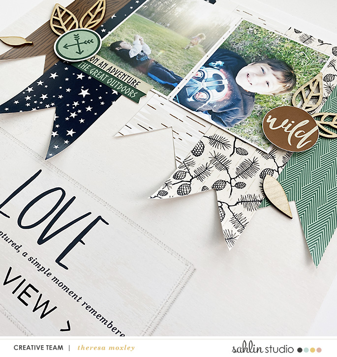 digital scrapbooking layout created by larkin design featuring Project Mouse (Wilderness) by Sahlin Studio and Britt-ish Designs