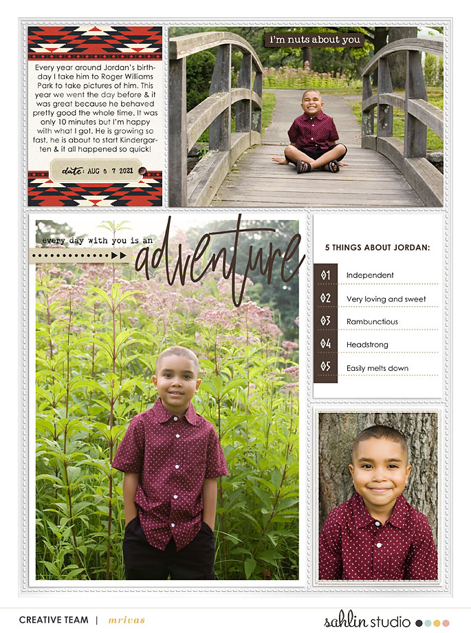 digital scrapbooking layout created by mrivas2181 featuring Project Mouse (Wilderness) by Sahlin Studio and Britt-ish Designs