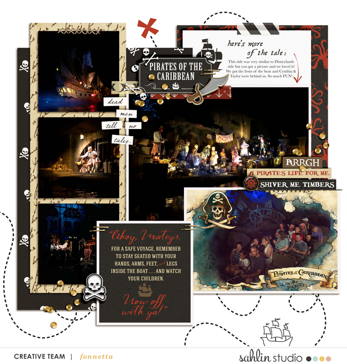 digital scrapbooking layout created by fonnetta featuring October '21 Free Template by Sahlin Studio