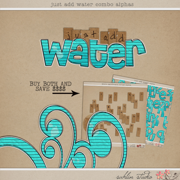 Just Add Water Combo Alphas by Sahlin Studio