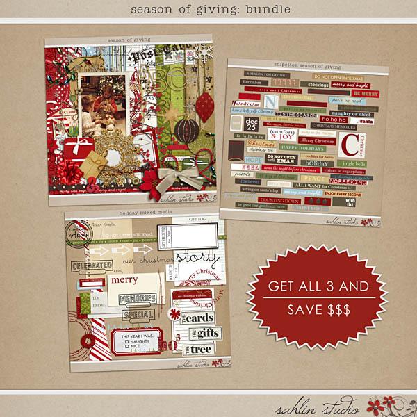 Season of Giving Bundle by Sahlin Studio