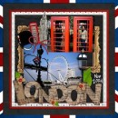 """Digital Scrapbook page created by tanyah666 featuring """"Around The World"""" and """"Taste of Great Britain"""" by Sahlin Studio and Britt-ish Designs"""