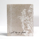 hybrid scrapbook card featuring I'll Love You Forever (Entire Collection) by Sahlin Studio