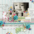 layout featuring A Spring Day by Sahlin Studio