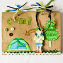 """Digital Scrapbook page created by ana.paula featuring """"Summer Camp"""" by Sahlin Studio"""