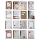december daily album featuring Brown Paper Packages (Papers) and December Daily Numbers by Sahlin Studio