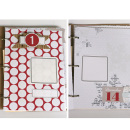 album featuring December Daily Numbers and Brown Paper Packages (Papers) by Sahlin Studio