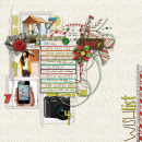 layout by mrshobbes featuring Kitschy Christmas Journalers by Sahlin Studio