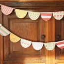 bunting featuring Kitschy Christmas Collection by Jennifer Barrette and Sahlin Studio