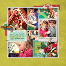 layout by amberr featuring the Kitschy Christmas Collection by Sahlin Studio and Jennifer Barrette
