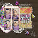 layout featuring Taped Up Swatches by Sahlin Studio