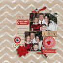 layout by kristasahlin featuring Brown Paper Packages (Papers), December Daily Numbers, Very Merry (Elements) and Washi Tape Strips by Sahlin Studio