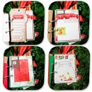 album by ana.paula featuring December Daily Numbers and Washi Tape Strips by Sahlin Studio
