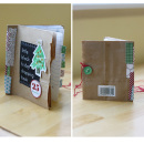 Album by cnscrap featuring December Daily Numbers and Washi Tape Strips by Sahlin Studio