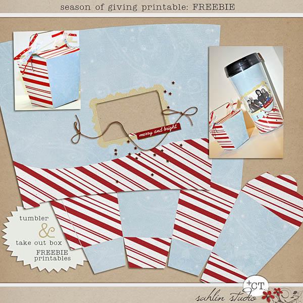 Season of Giving Printables by Sahlin Studio