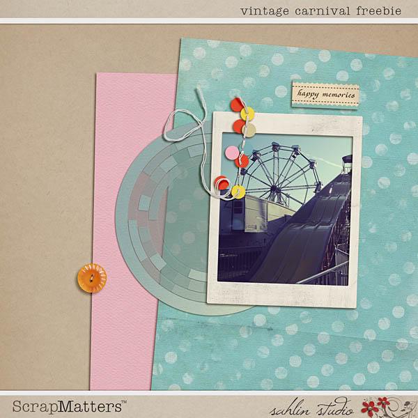 Vintage Carnival Freebie by Sahlin Studio