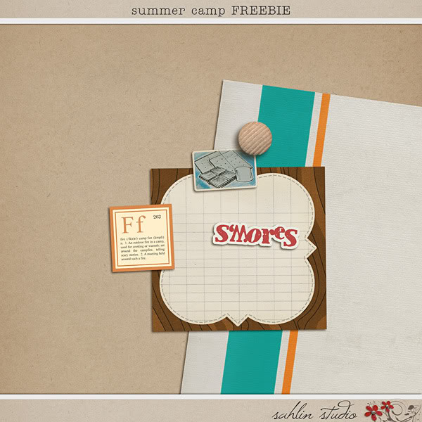 Summer Camp Feebie by Sahlin Studio