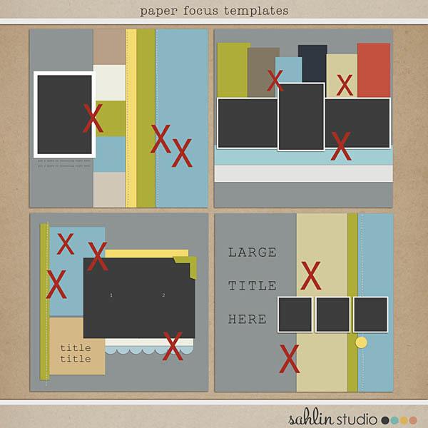 Paper Focus Templates by Sahlin Studio