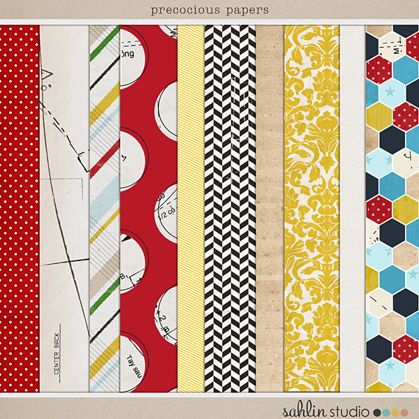 Precocious (Papers) by Sahlin Studio and Precocious Paper