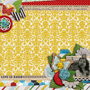 layout by heathergw featuring Precocious by Sahlin Studio and Precocious Paper