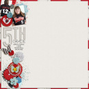 layout by kimbytx featuring Precocious by Sahlin Studio and Precocious Paper