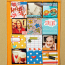 project by Cristina featuring Embellish: Arrows No. 1 and Insta-Frame Templates by Sahlin Studio
