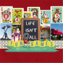 layout by askings featuring Vintage Playing Cards and Anagram Letter Tile Alpha by Sahlin Studio