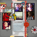 layout by britt featuring Embellish: Arrows No. 1 and Insta-Frame Templates by Sahlin Studio