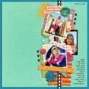 layout by kimbytx featuring Embellish: Arrows No. 1 and Insta-Frame Templates by Sahlin Studio