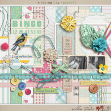 a spring day (kit) by sahlin studio