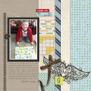 game on layout by kristasahlin featuring Paper Focus Templates by Sahlin Studio
