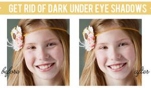get rid of dark under eye tutorial