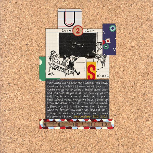 cnscrap - inspirational scrapbook layout