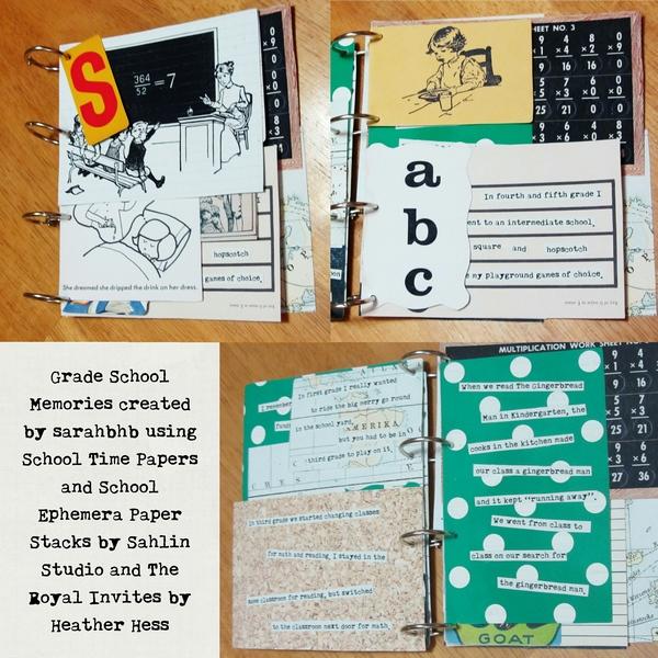 sarahbhb - inspirational scrapbook layout