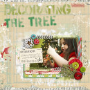 jenn barrette - inspirational scrapbook layout