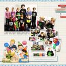 Keela - inspirational scrapbook layout