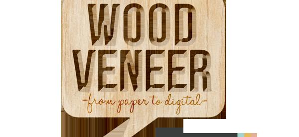 Digital Wood Veneer by Sahlin studio