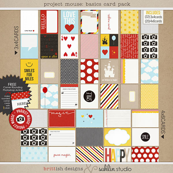 project mouse: basic cards by britt-ish designs and sahlin studio