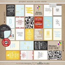 project mouse: quote cards by britt-ish designs and sahlin studio