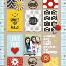 juhh - inspirational scrapbook layout